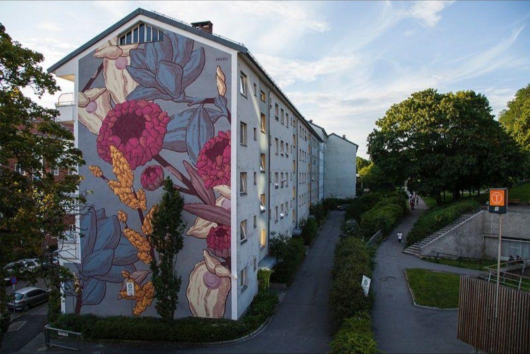 Pastel FD-Tøyen, Oslo-2017
